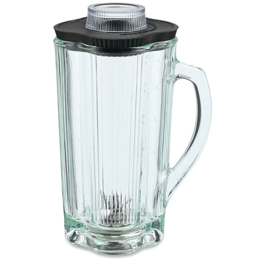 Waring CAC34 40 oz. Glass Container with Lid and Blade Assembly for BB900 Blender