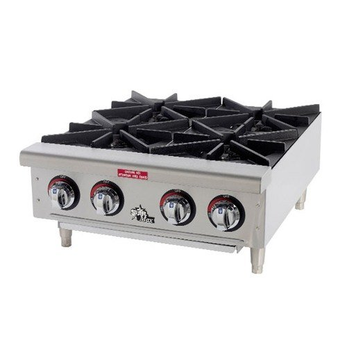 Star Max 602HWF 2 Burner Countertop Range / Hot Plate 50,000 BTU - 24