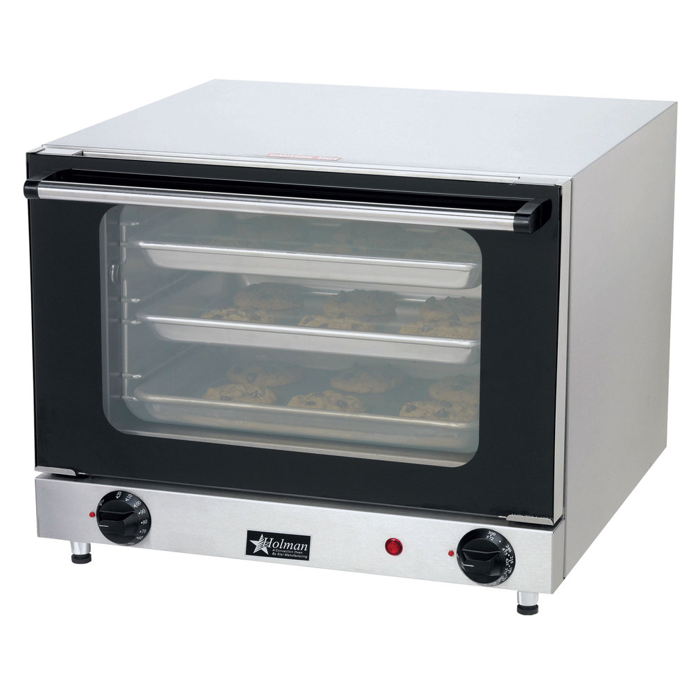 Commercial Countertop Convection Oven Reviews : Star CCOQ-3 Electric Countertop Quarter Size Convection Oven 120V