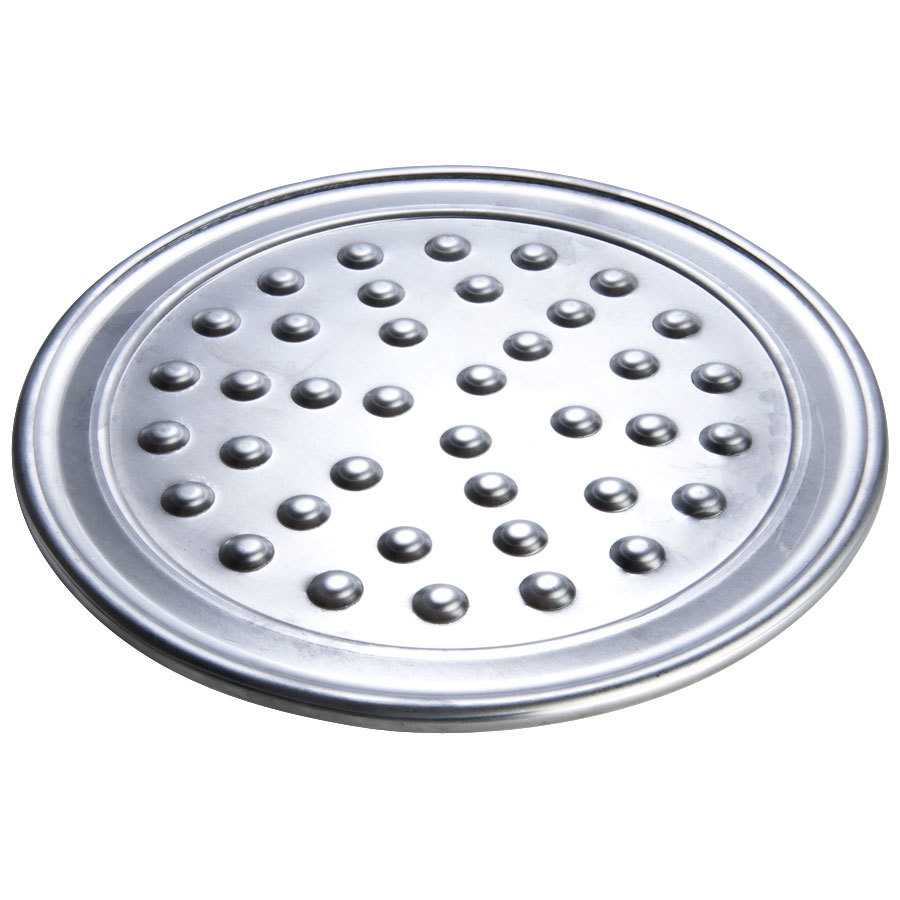 "American Metalcraft HATP7N 7"" Wide Rim Pizza Pan with Nibs - Heavy Weight Aluminum at Sears.com"