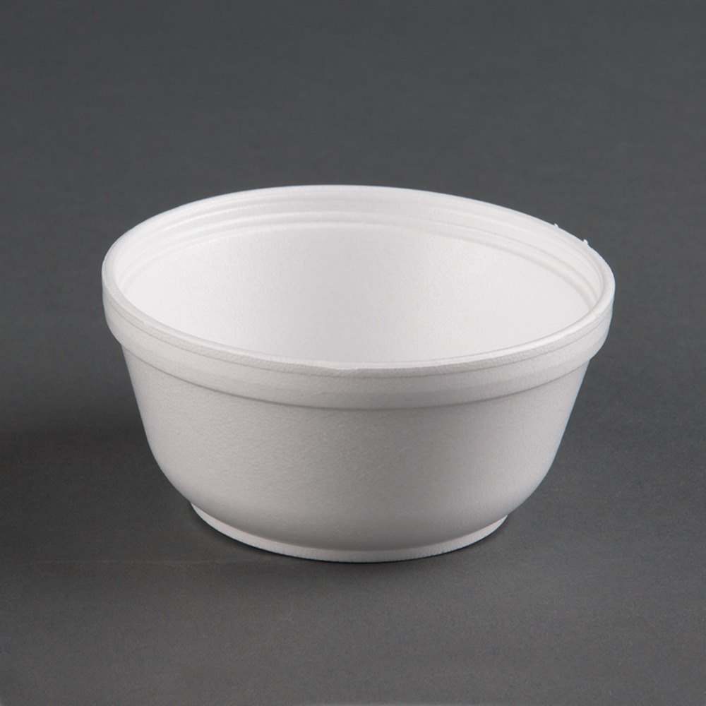 Dart 12B32 12 oz. Insulated White Customizable Foam Bowl - 1000 / Case at Sears.com