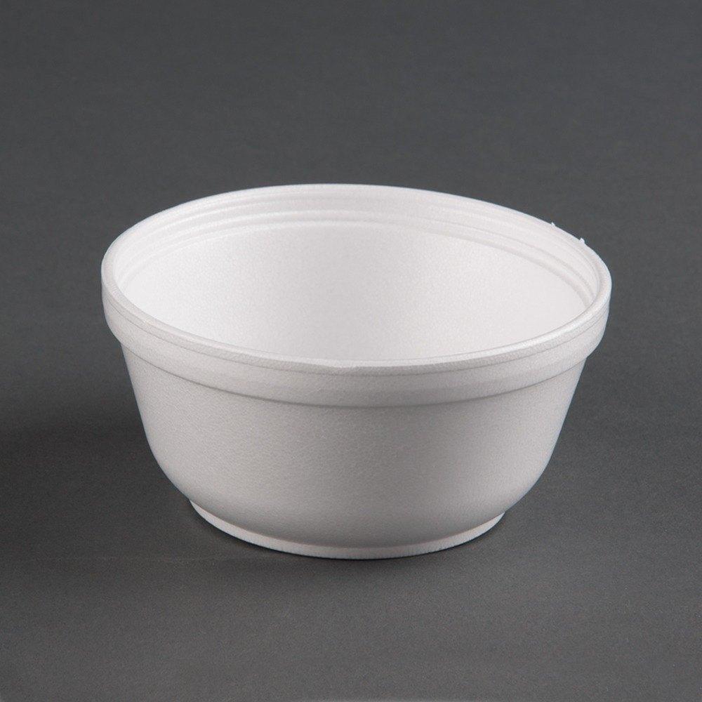 Dart 12B32 12 oz. Insulated White Customizable Foam Bowl - 1000 / Case at Sears.com