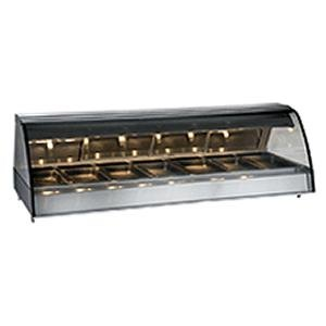"Alto-Shaam TY2-96 SS Stainless Steel Countertop Heated Display Case with Curved Glass - Full Service 96"" at Sears.com"