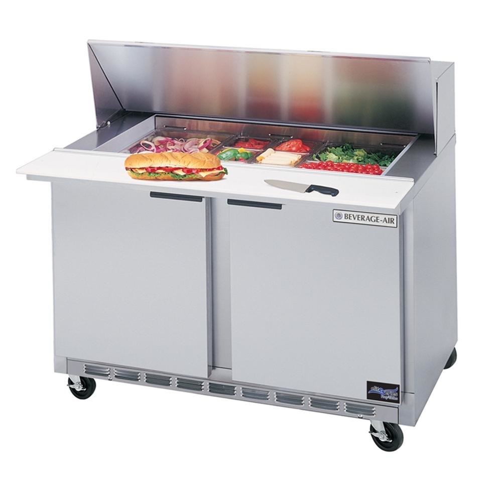 Beverage Air (Bev Air) SPE36-08 36 inch Refrigerated Salad / Sandwich Prep Table