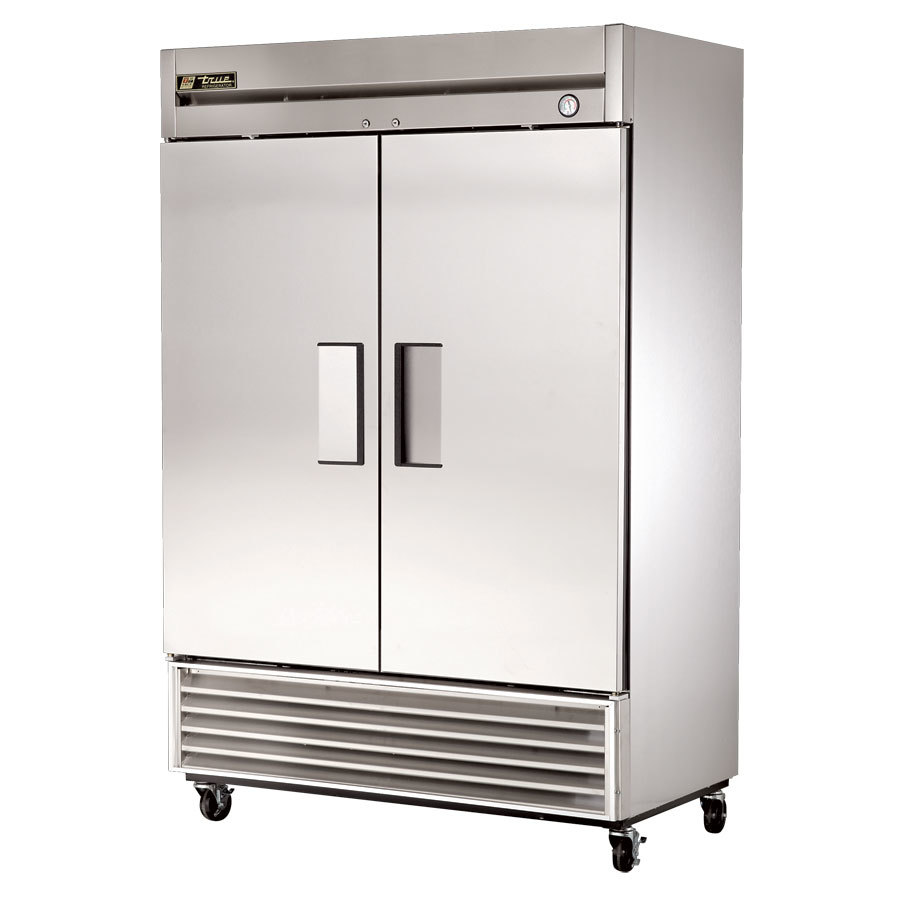 True T-49F Two Door Bottom Mounted Reach-In Freezer - 42.8 Cu. Ft.