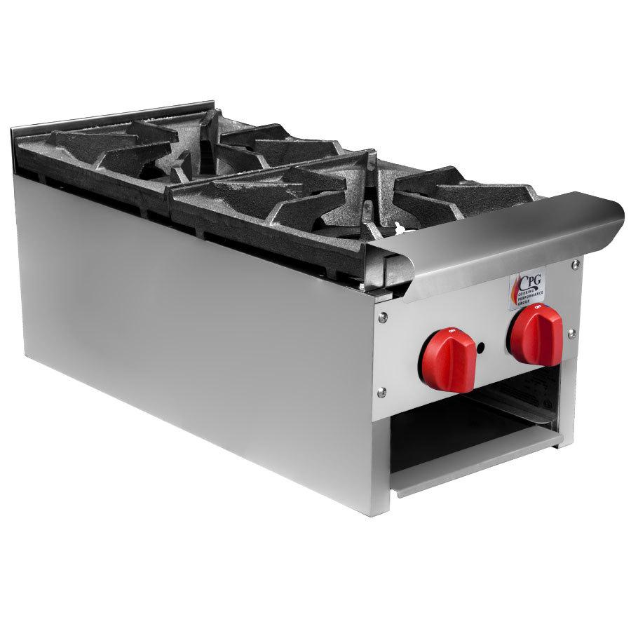 ... Group CPG-HP-2-12C 2 Burner Countertop Hot Plate - 60,000 BTU