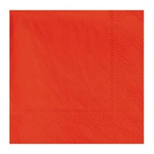Hoffmaster 180308 Bittersweet Orange Beverage / Cocktail Napkin - 250 / Pack
