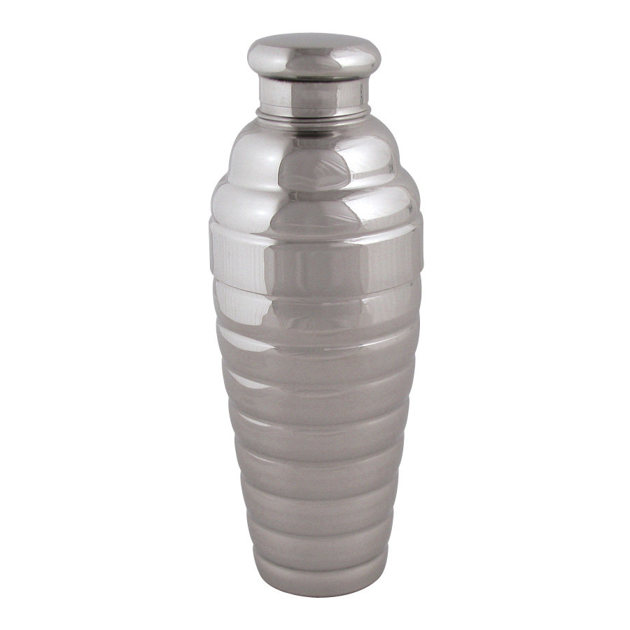 Vollrath 47612 24 oz. 3-Piece Beehive Cocktail Shaker