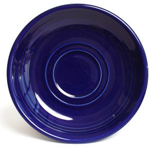 Homer Laughlin 470105 Fiesta Cobalt Blue 5 7/8 inch Saucer - 12 / Case