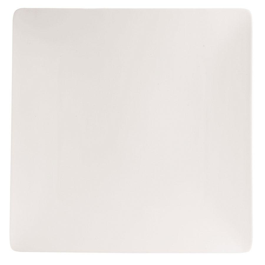 "Cardinal Chef & Sommelier S1004 Purity Square Plate 8"" 24 / Case"