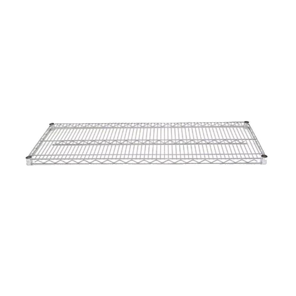 Advance Tabco EC-1442 14 inch x 42 inch Chrome Wire Shelf