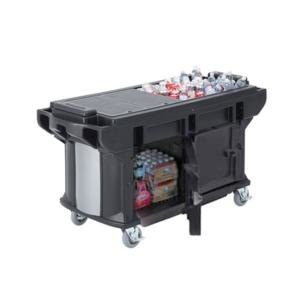 Cambro VBRUTHD5110 Black 5? Versa Ultra Work Table with Storage and Heavy-Duty Casters at Sears.com