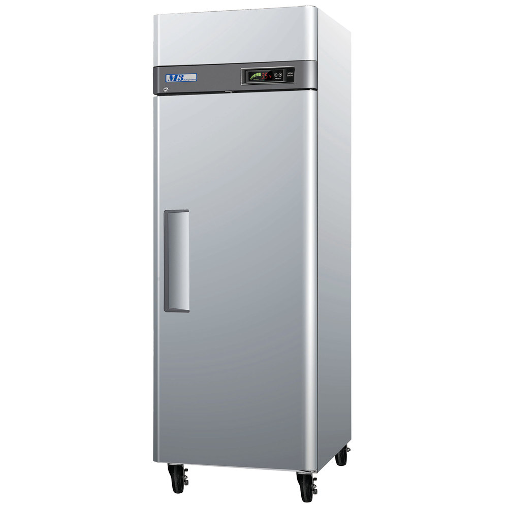Turbo Air M3F19-1 25 inch M3 Series Single Door Reach In Freezer - 20 Cu. Ft.