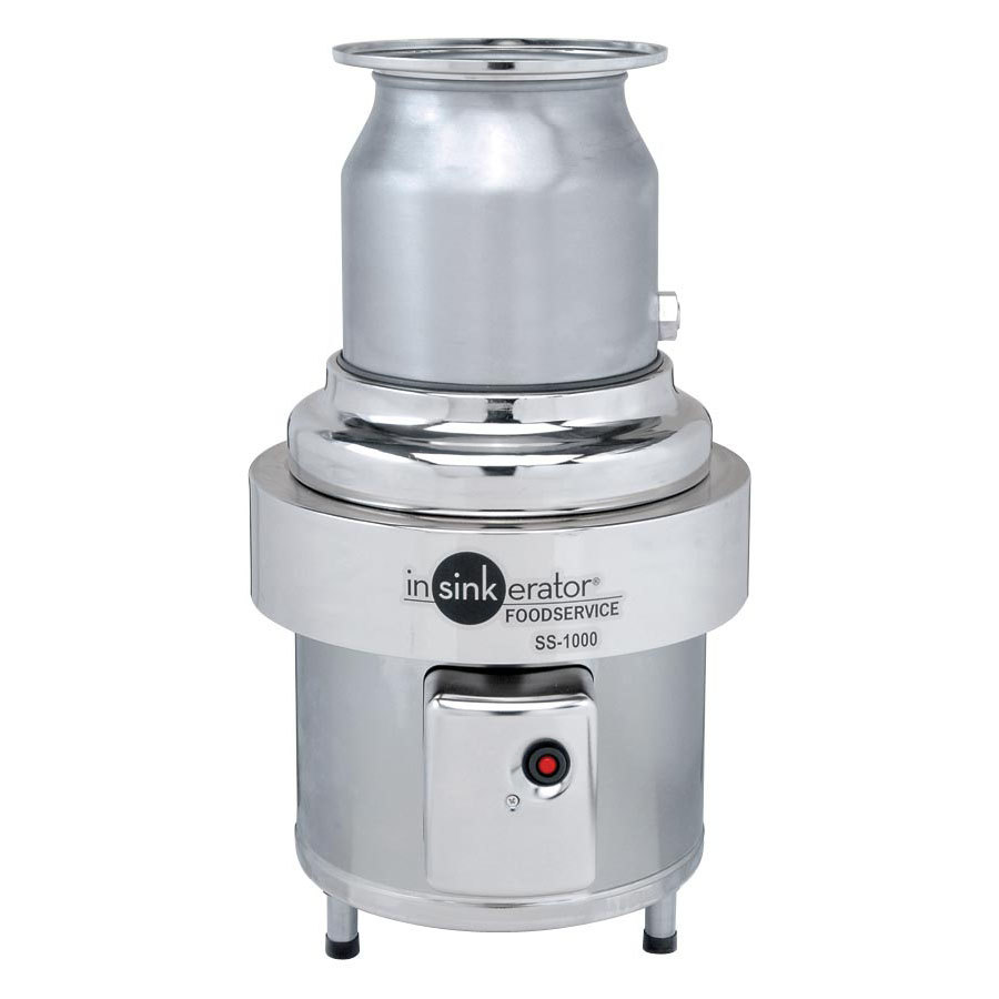 insinkerator ss 1000 10 commercial garbage disposer 10 hp 208 230 460v insinkerator ss 1000 10 commercial garbage disposer 10 hp, 3 phase Motion Sensor Light Switch Wiring Diagram at mifinder.co