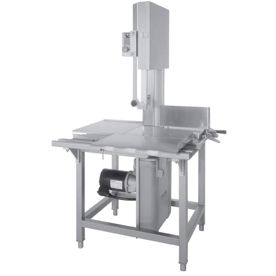 "Hobart 6614-1 126"" Vertical Meat Saw - 3 hp, 200-230/60/3V"