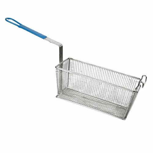 Fryer Basket with Front Hook 6 1/2 inch x 13 inch x 5 1/4 inch