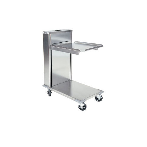 "Delfield CT-1622 Mobile Cantilevered Tray Dispenser for 16"" x 22"" Food Trays"