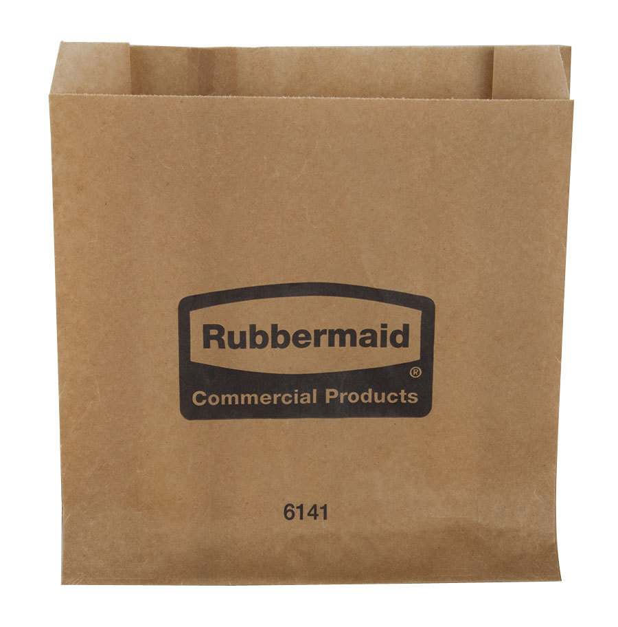 Rubbermaid 6141 Sanitary Napkin Receptacle Bags 250 Case