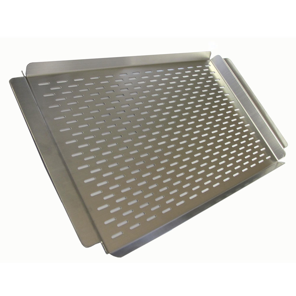 Crown Verity Stainless Steel Perforated Grill Plate Size