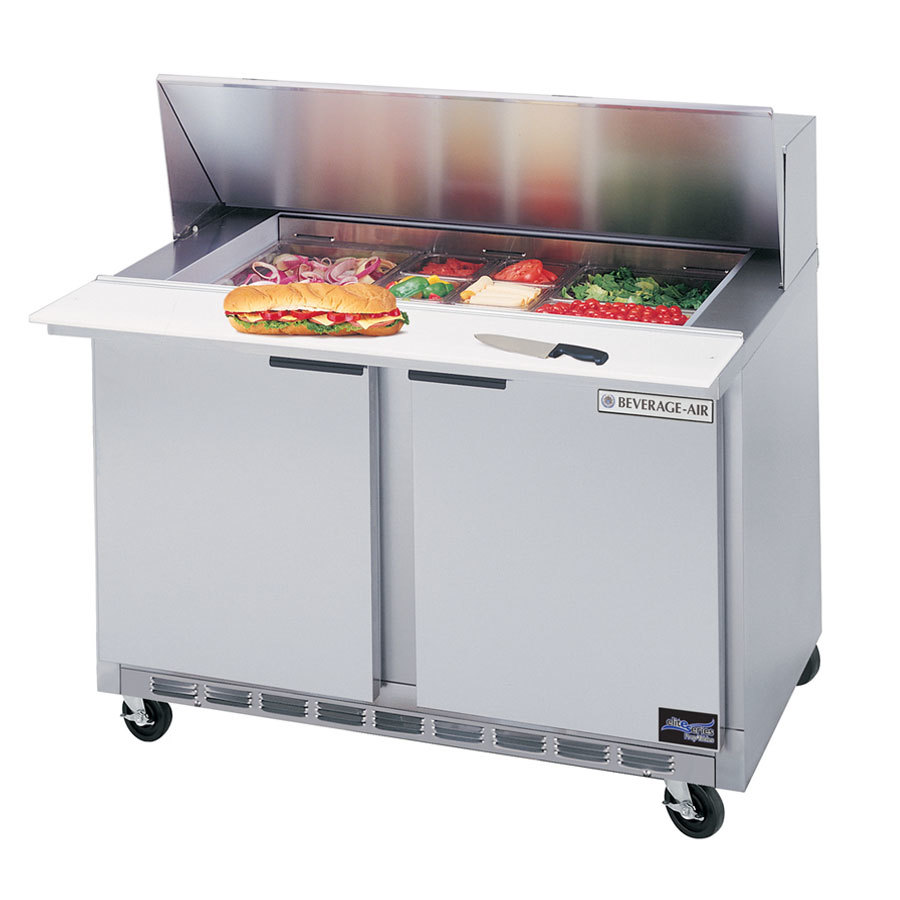 Beverage Air (Bev Air) SPE36-10 36 inch Refrigerated Salad / Sandwich Prep Table