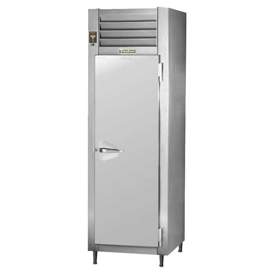 Traulsen RHT132NUT-FHS Stainless Steel 21.9 Cu. Ft. One Section Narrow Reach In Refrigerator - Specification Line