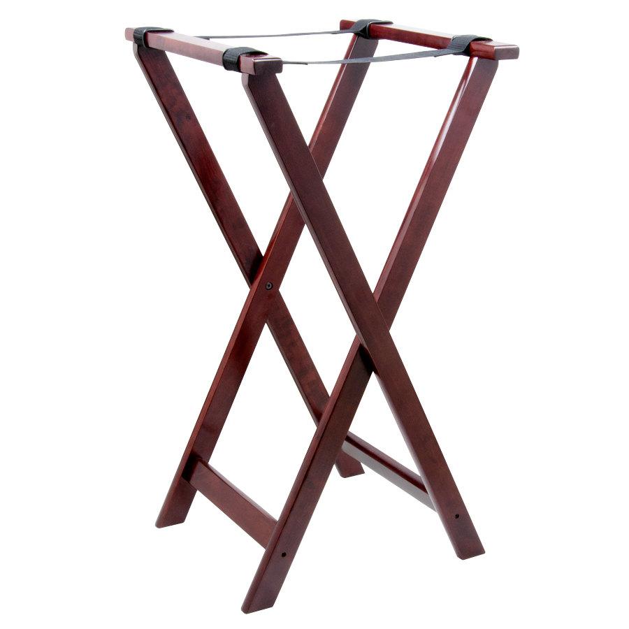 Tablecraft mahogany tray stand quot