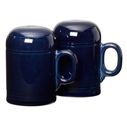 Homer Laughlin 756105 Fiesta Cobalt Blue Rangetop Salt and Pepper Shaker Set - 4 Sets / Case