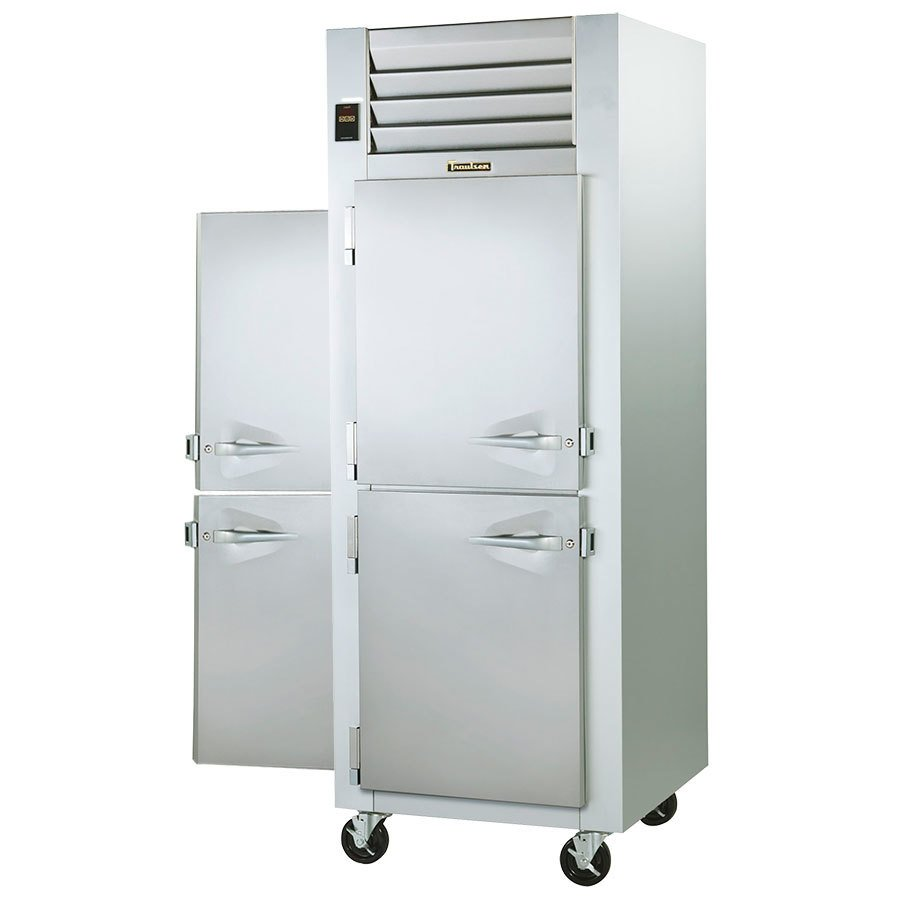 Traulsen GP Section PassThrough Half Door Hot Food Holding - Hot food holding cabinet