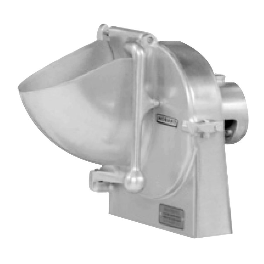 Hobart VS9-12 9 inch Slicer Attachment with #12 Back Case, Hopper Front, and Adjustable Slicer Plate