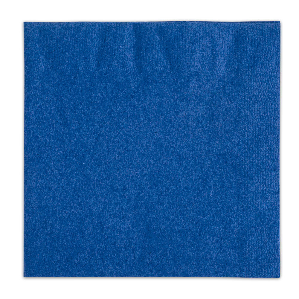 Choice Navy Blue Beverage / Cocktail Napkin - 250 / Pack