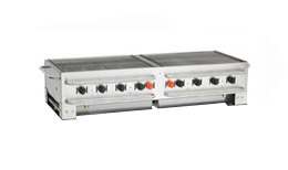 Crown Verity PCB-60-SI Portable Grill 60 inch - Stackable with Single Inlet
