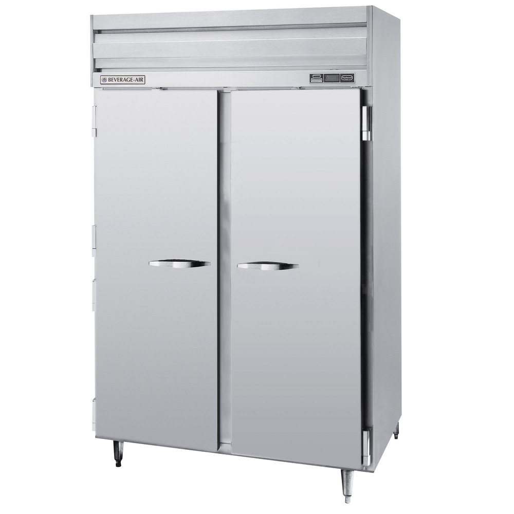 beverage air prf24 24 1as 02 2 section dual temperature reach in 46 cu ft stainless steel beverage air prf24 24 1as 02 52\