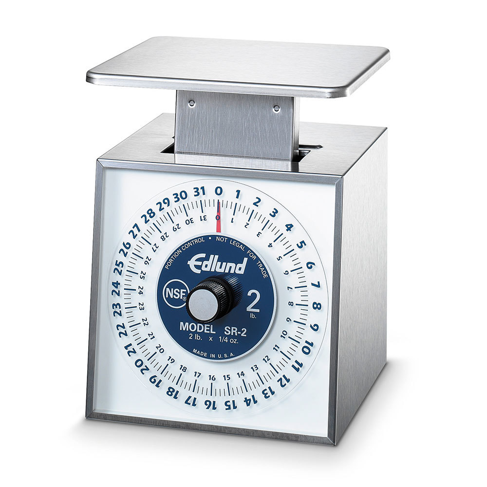 Edlund SR-1 Stainless Steel 16 oz. Mechanical Portion Control Scale