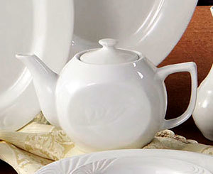 CAC RSV-TP Roosevelt 15 oz. Tea Pot with Lid 36/Case