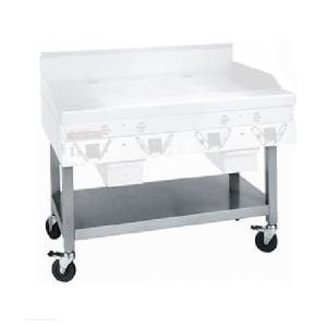 Garland / US Range Garland SCG-60SSC Equipment Stand with Undershelf and Casters for CG-60R and ECG-60R Griddles at Sears.com