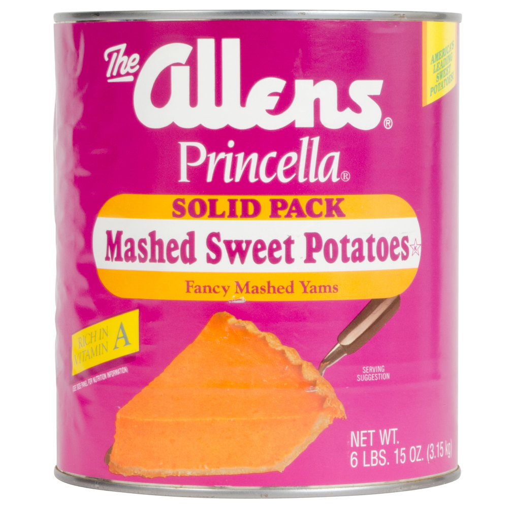 Mashed Sweet Potatoes #10 Can