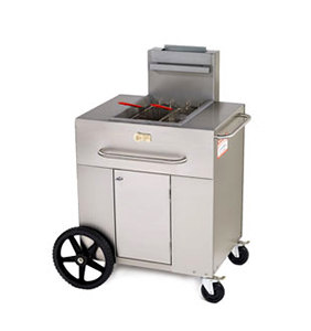Crown Verity PF-1 Portable Outdoor Fryer Single Tank 35 - 40 lb.