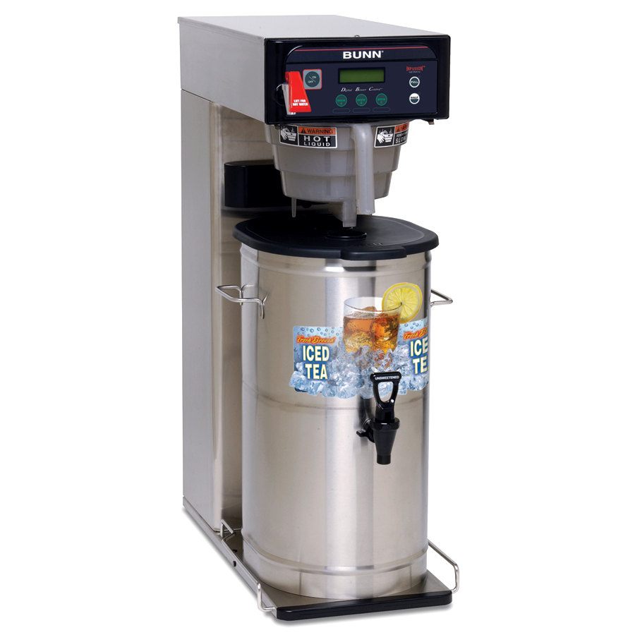 Bunn Infusion ITCB-DV Tea and Coffee Brewer with 29 inch Trunk - Dual Voltage (Bunn 35700.0000)