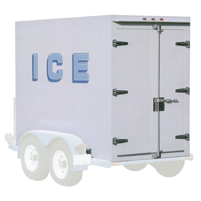 Polar Temp 5X9CW Cold Wall Refrigerated Ice Transport - 250 cu. ft.