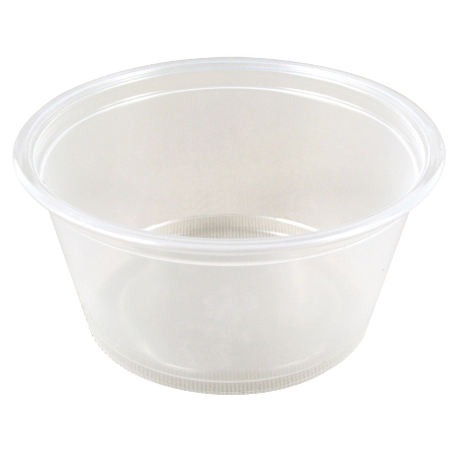 Dart Conex 200PC 2 oz. Plastic Souffle / Portion Cup 2500/Case