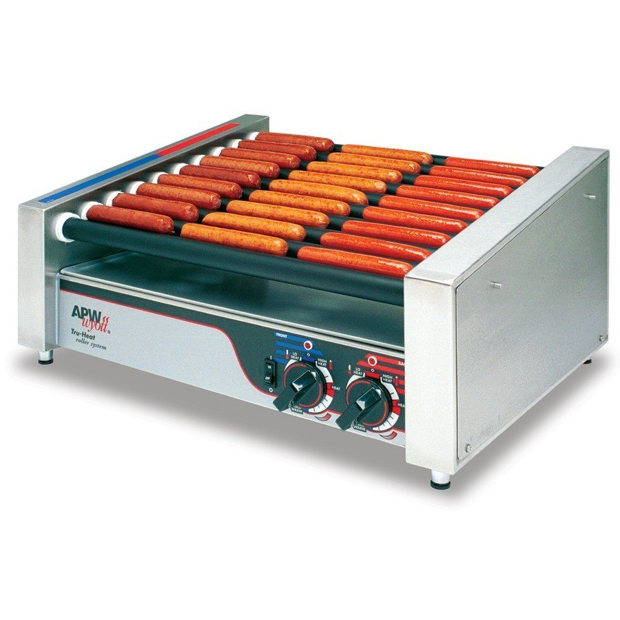 "APW Wyott HR-45 Hot Dog Roller Grill 23""W - Flat Top 120V at Sears.com"
