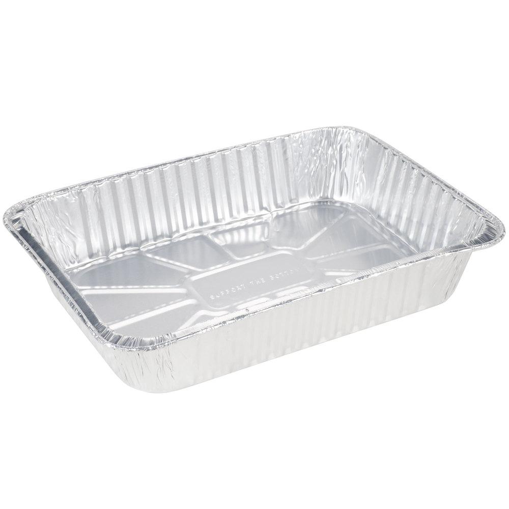 Durable Packaging 6700 100 Foil Roast Casserole Pan