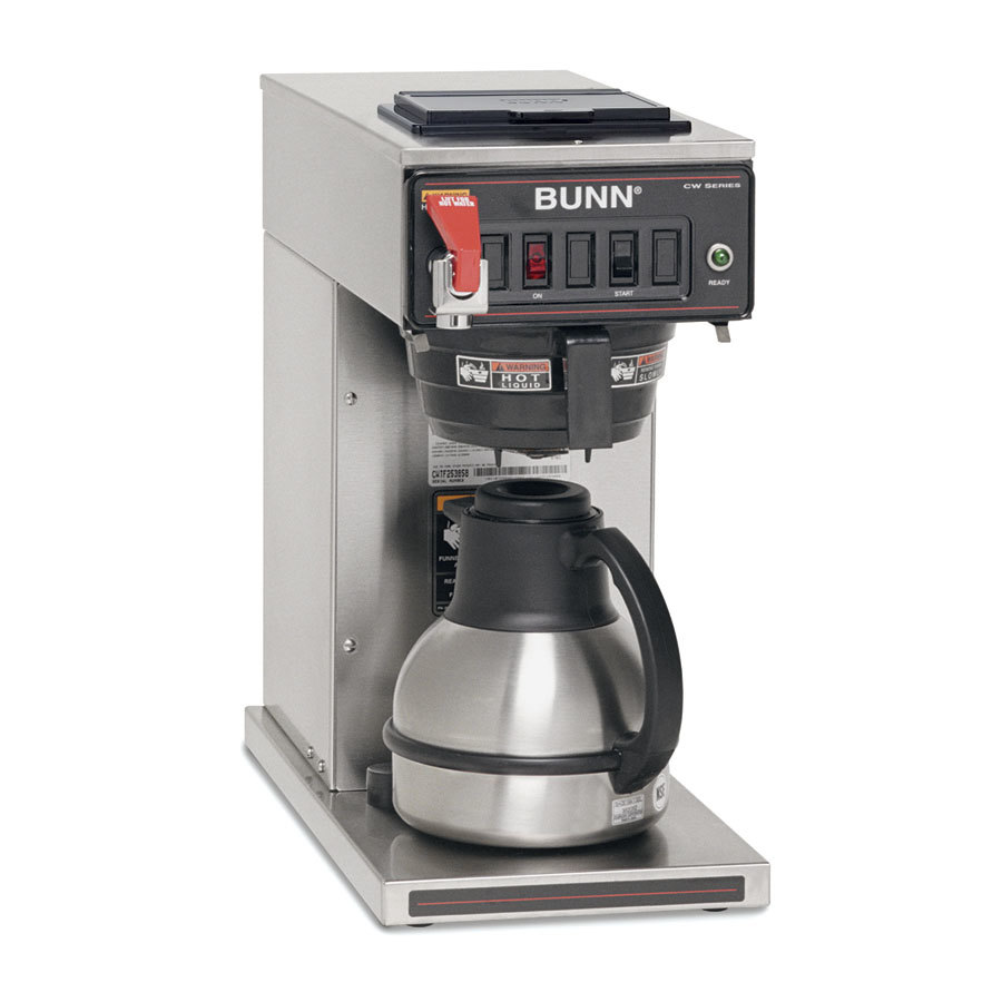 Bunn CWTF-TC DV Thermal Carafe Coffee Brewer - Automatic Dual Voltage (Bunn 23001.0069)