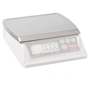 Rubbermaid 1812624 Compact Stainless Steel Scale Platform for 1812595, 1812593, and 1812594