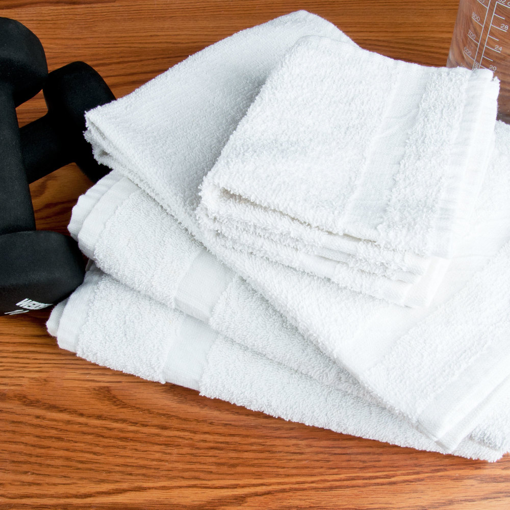Hotel Hand Towel - 12/Pack