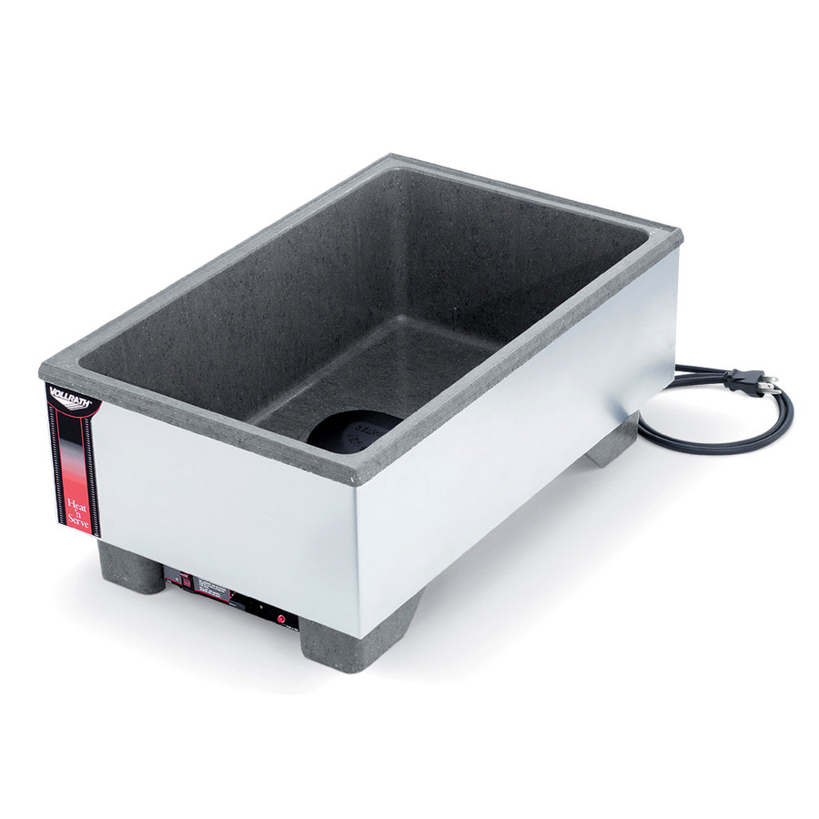 Vollrath 72020 Cayenne Full Size Heat 'n Serve Countertop Warmer 120V