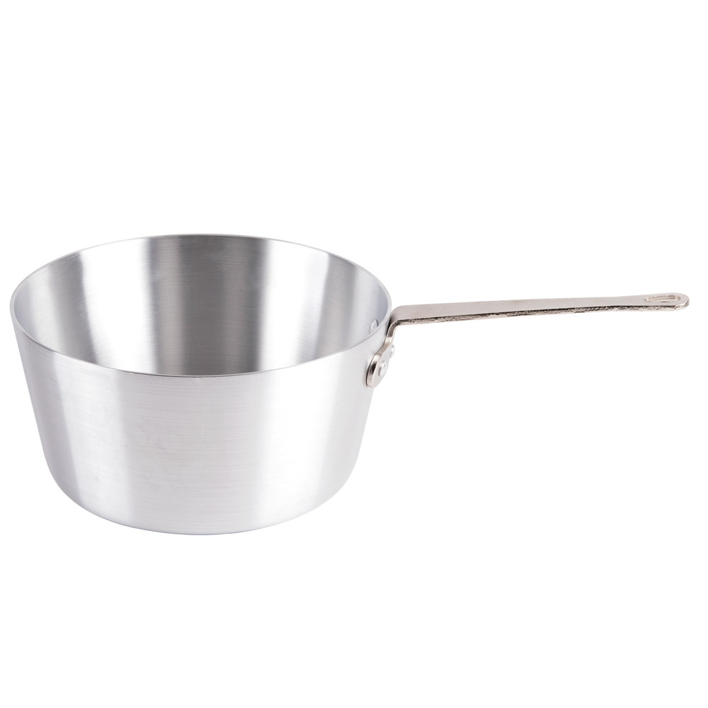5.5 Qt. Tapered Aluminum Sauce Pan