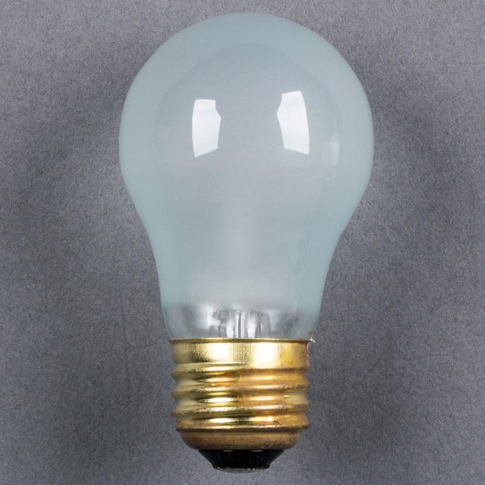 15 Watt Havells 60502 Frosted Incandescent Light Bulb 4 Pack A15 130v