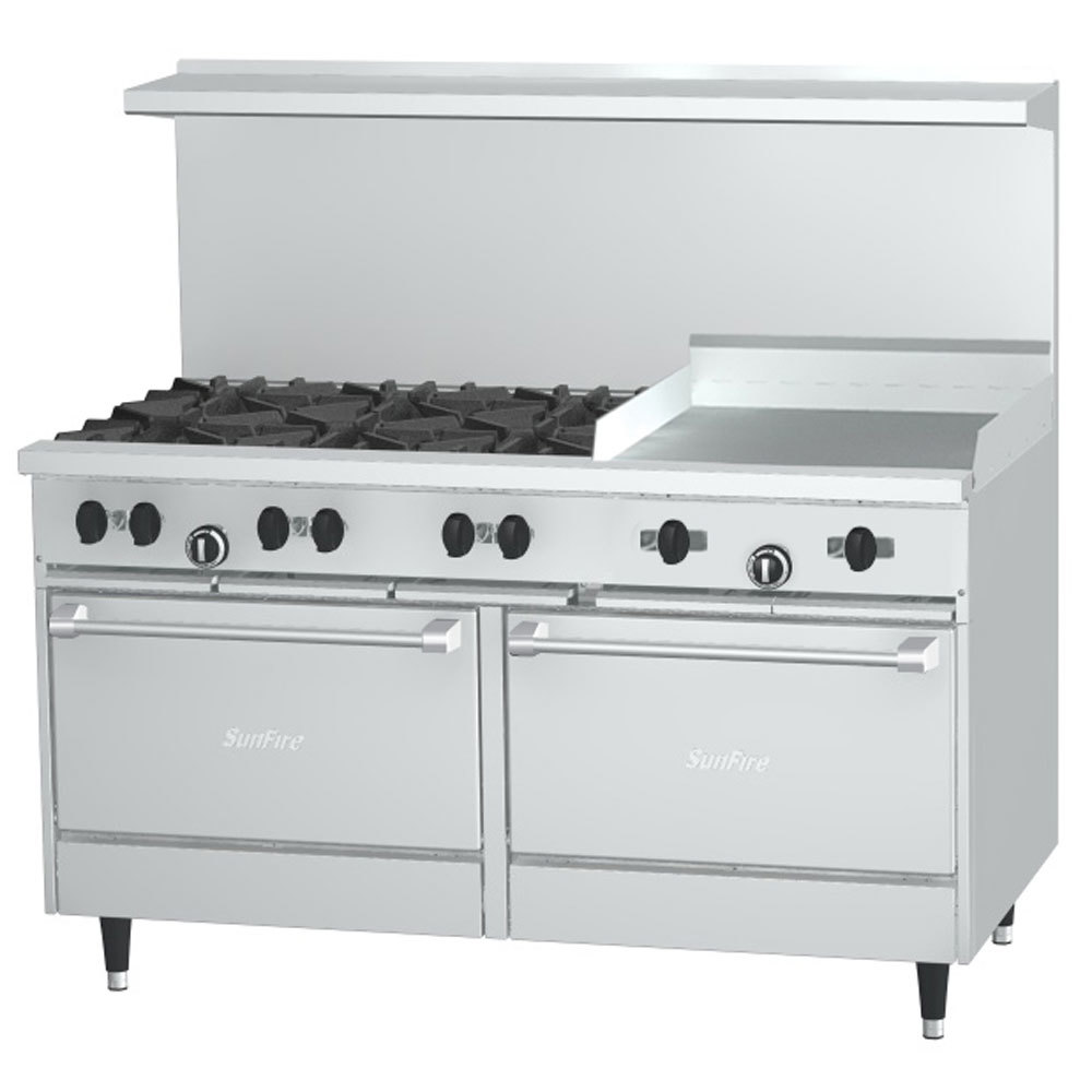 Natural Gas Ranges And Ovens
