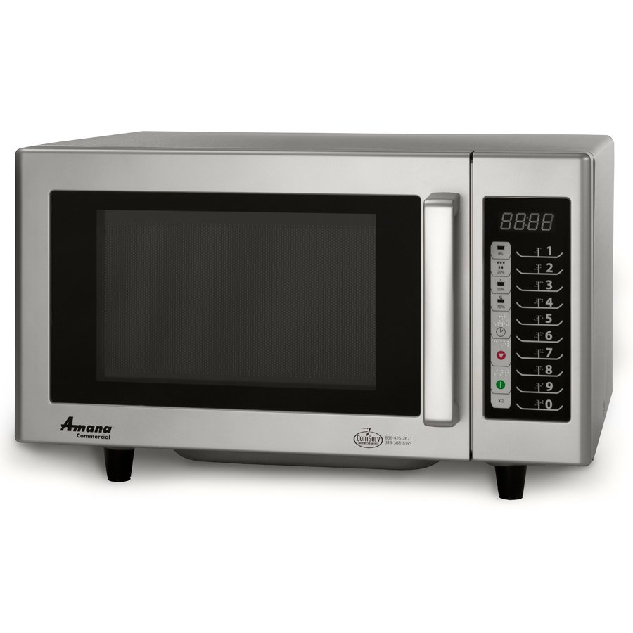 Amana Commercial Microwaves Amana RMS10TS 1000 Watt Commercial Microwave with Push Button Controls - 120V at Sears.com